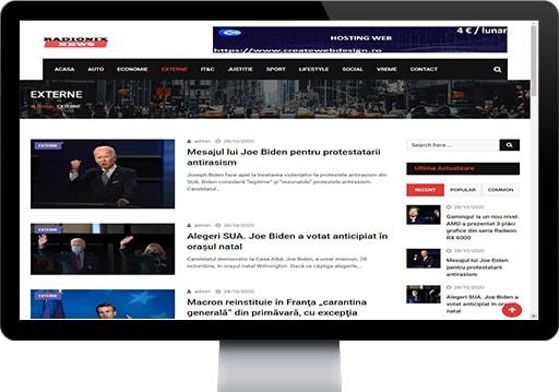 prezentare radionixnews